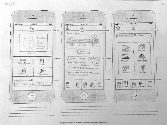 Mobile App Concept - Page 1