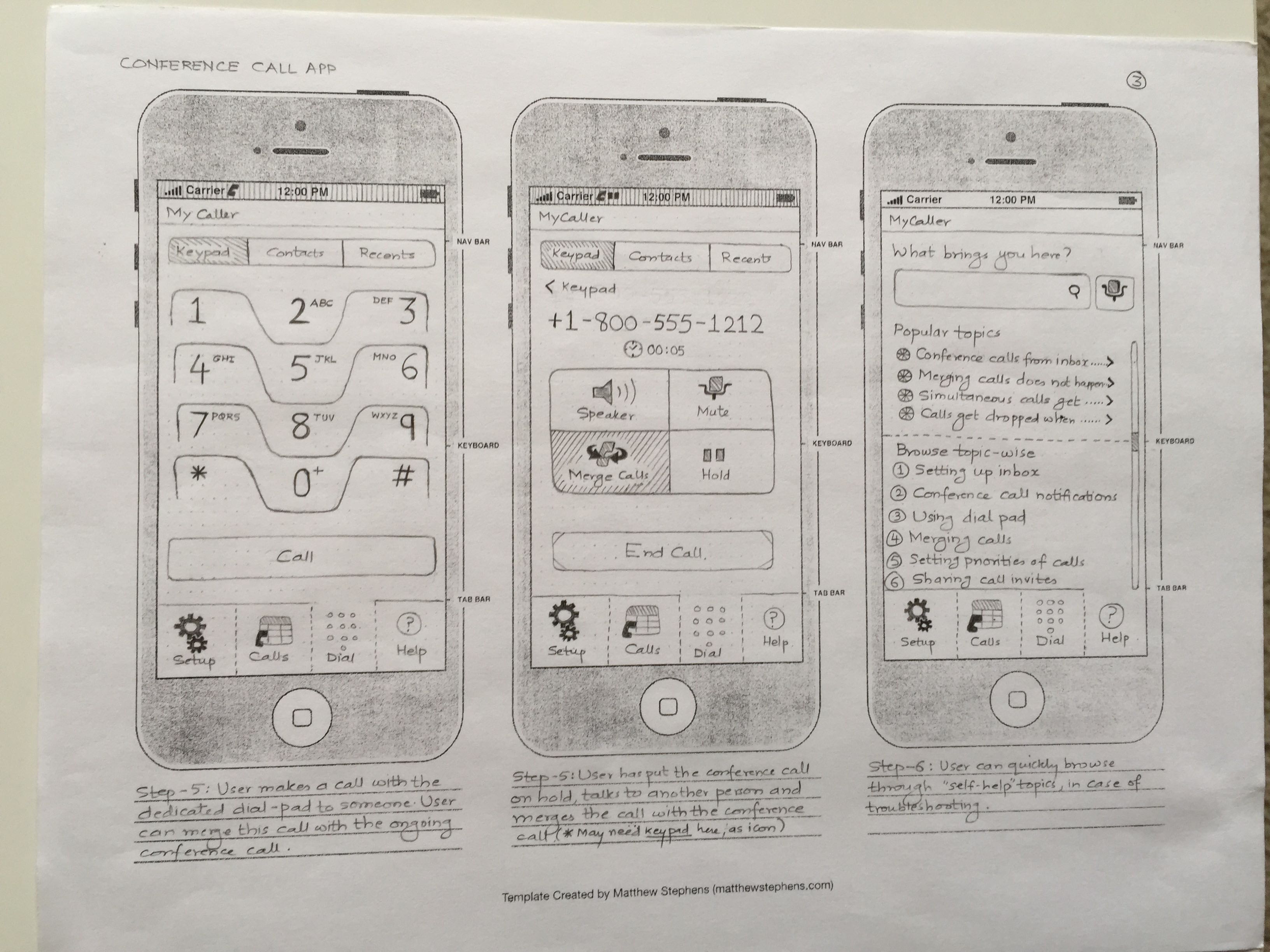 iPhone App - Page 3